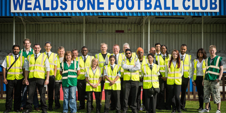 Wealdstone 1-4 Chelsea XI Friendly Stewards You do NOT have permission to use this image unless it is accredited to Steve Foster/Wealdstone FC. http://aqueoussun.wordpress.com